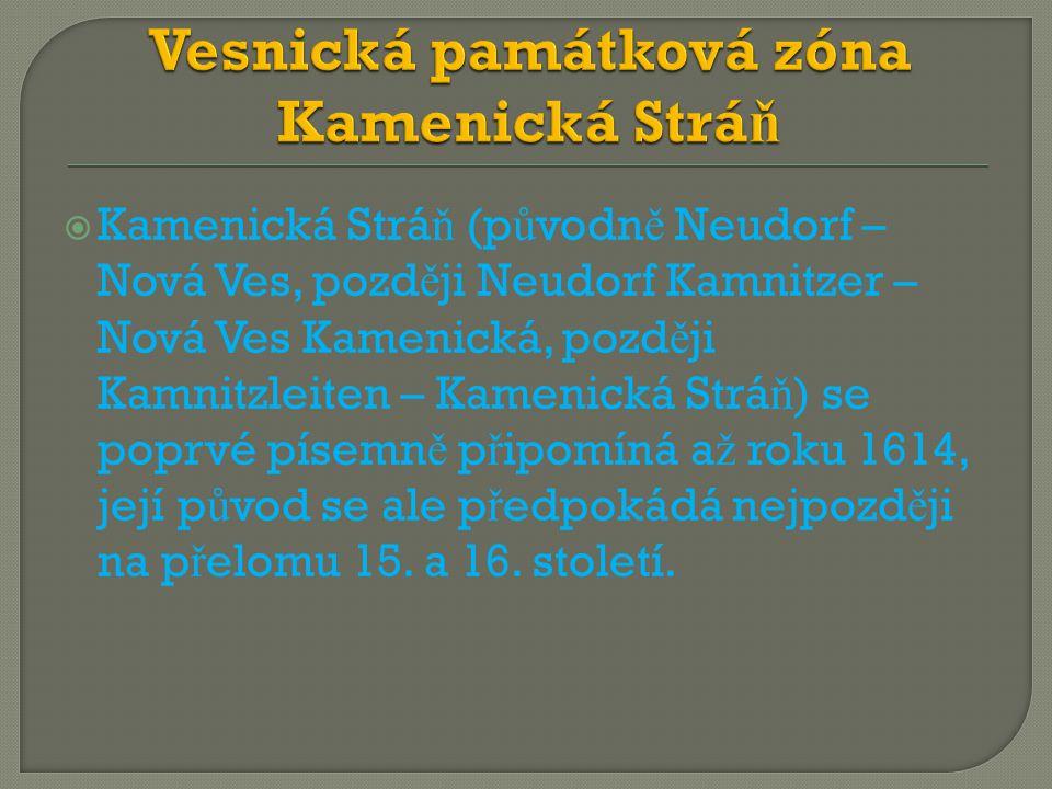 Vesnická památková zóna Kamenická Stráň