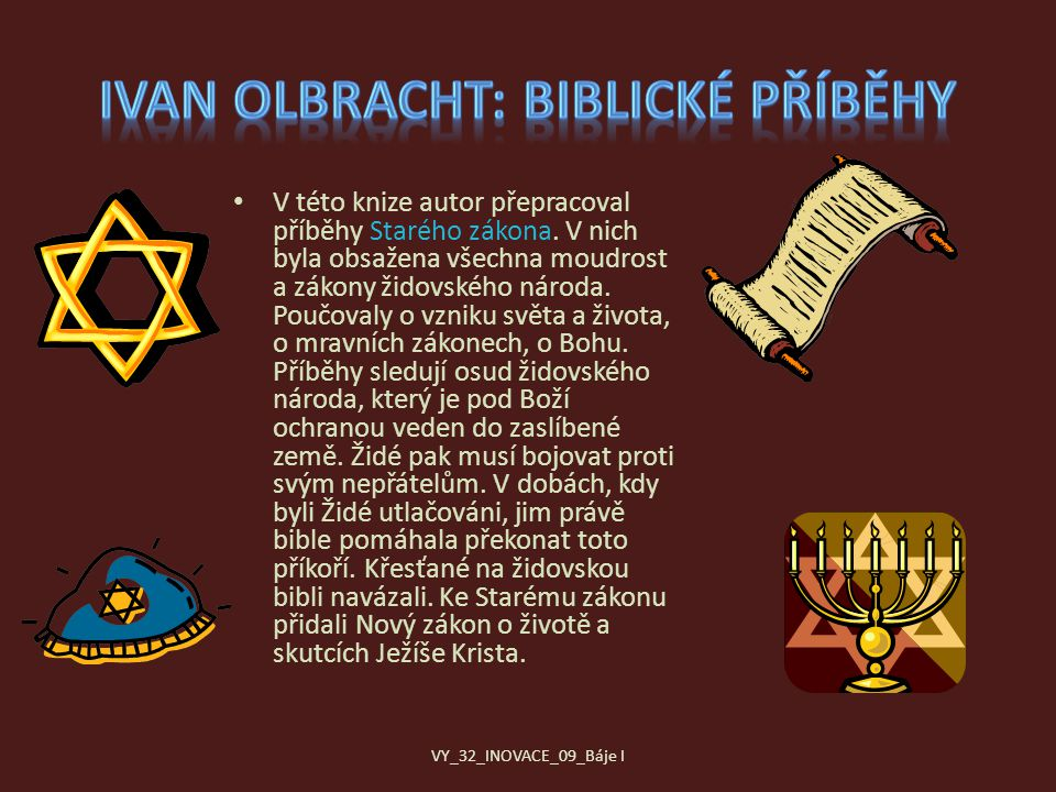 Ivan Olbracht: Biblické příběhy