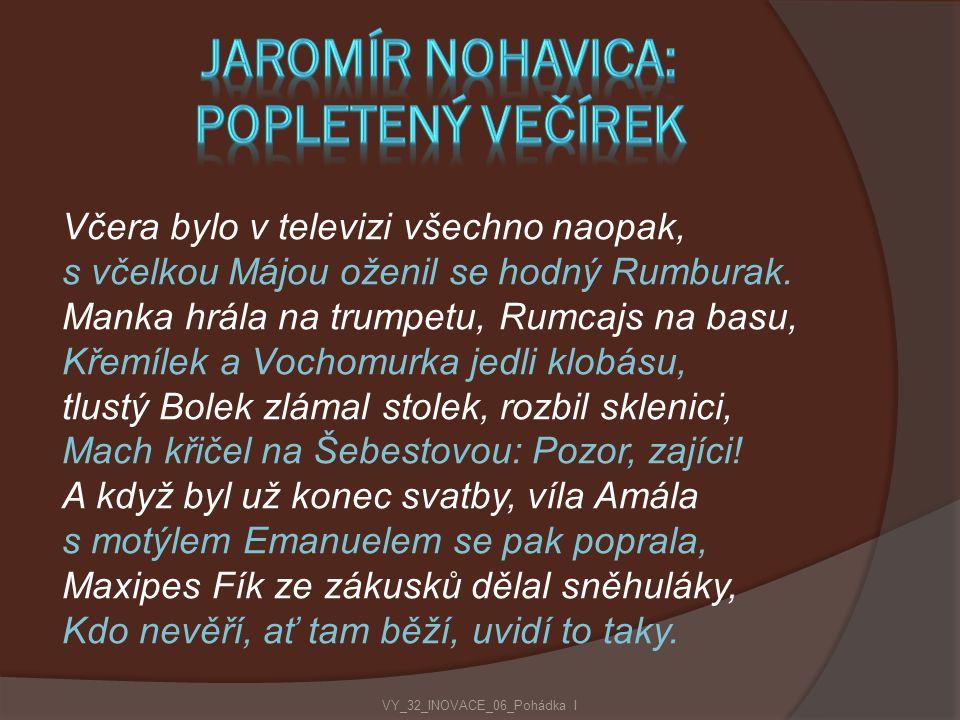 Jaromír Nohavica: Popletený večírek