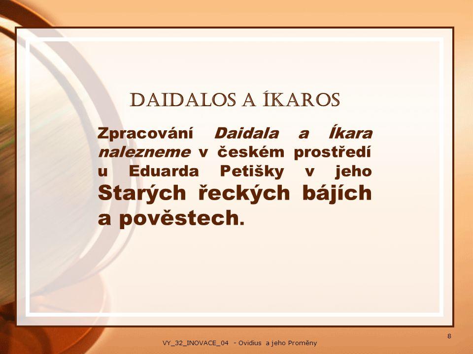 VY_32_INOVACE_04 - Ovidius a jeho Proměny