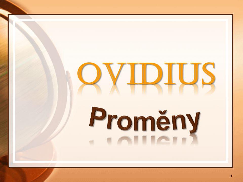OVIDIUS Proměny