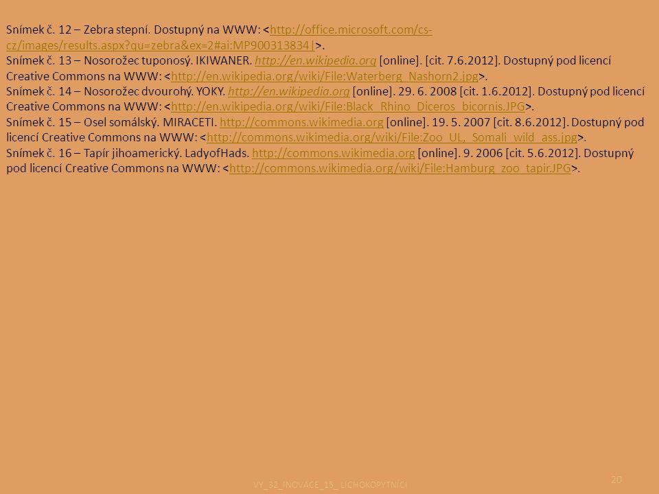 VY_32_INOVACE_15_ LICHOKOPYTNÍCI