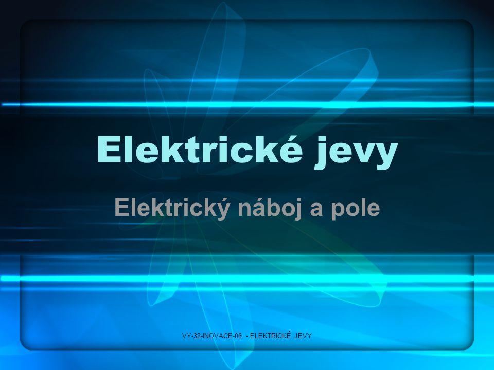 Elektrický náboj a pole