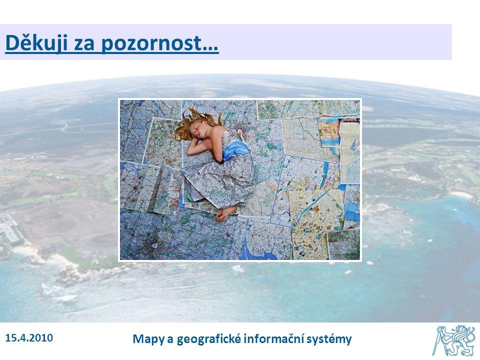 Mapy a geografické informační systémy