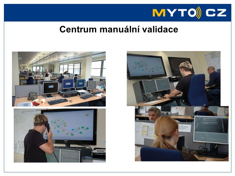 Centrum manuální validace