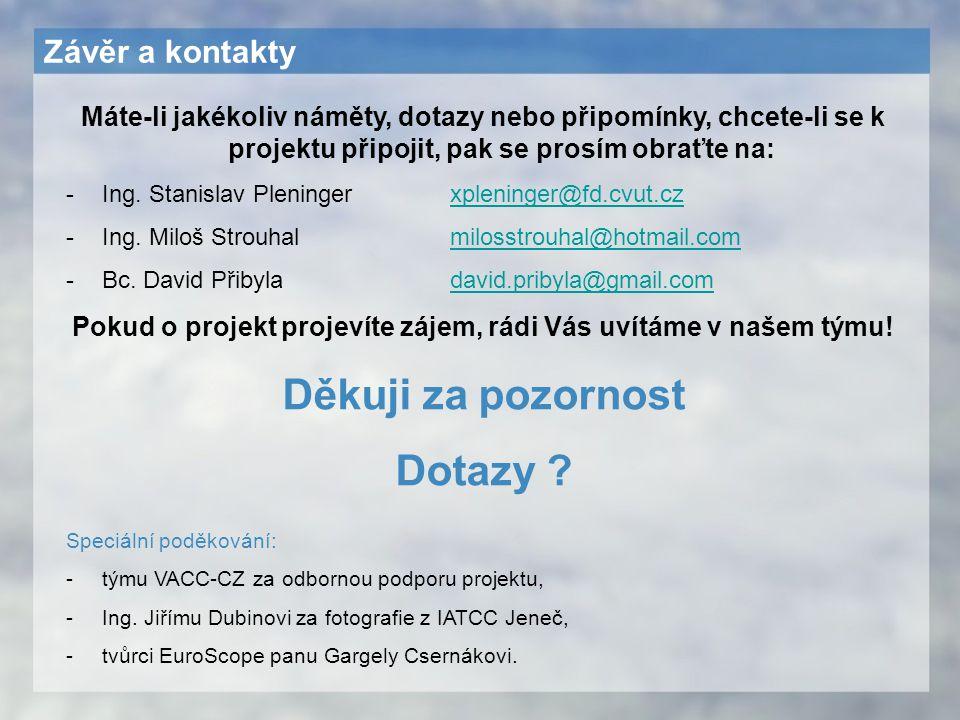 Pokud o projekt projevíte zájem, rádi Vás uvítáme v našem týmu!