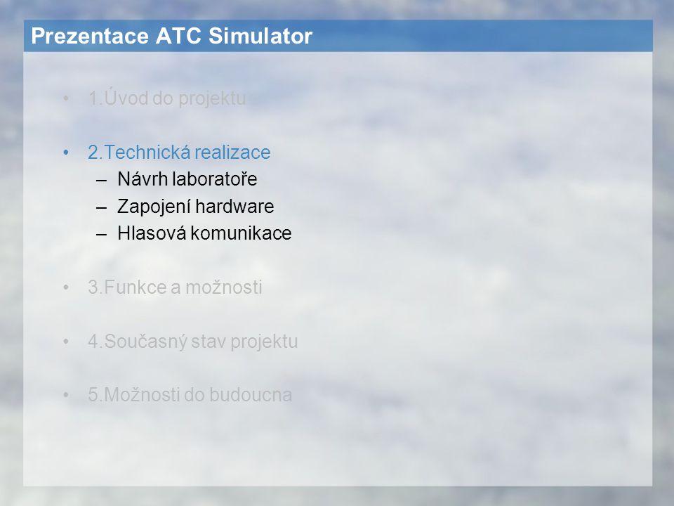 Prezentace ATC Simulator