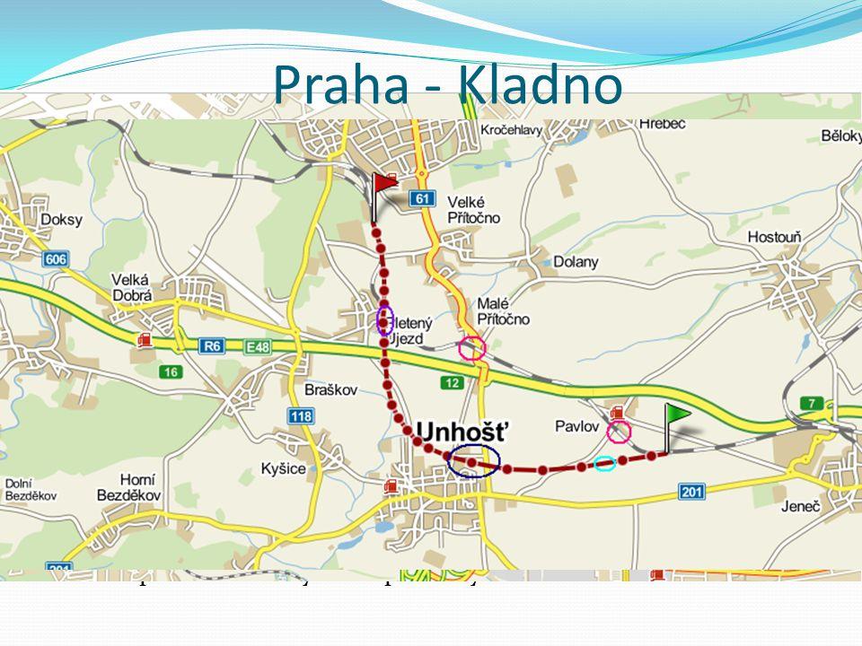 Praha - Kladno Dnešní nedostatky Cíle projektu