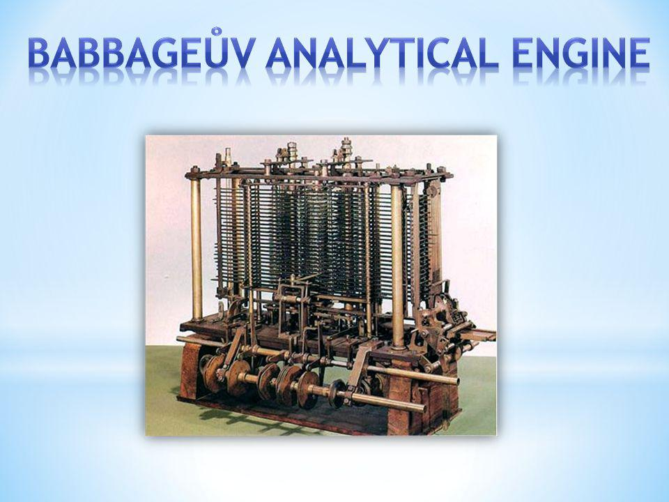Babbageův Analytical Engine