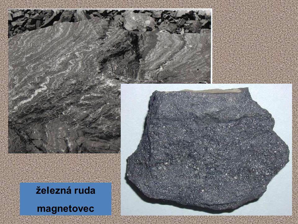 železná ruda magnetovec