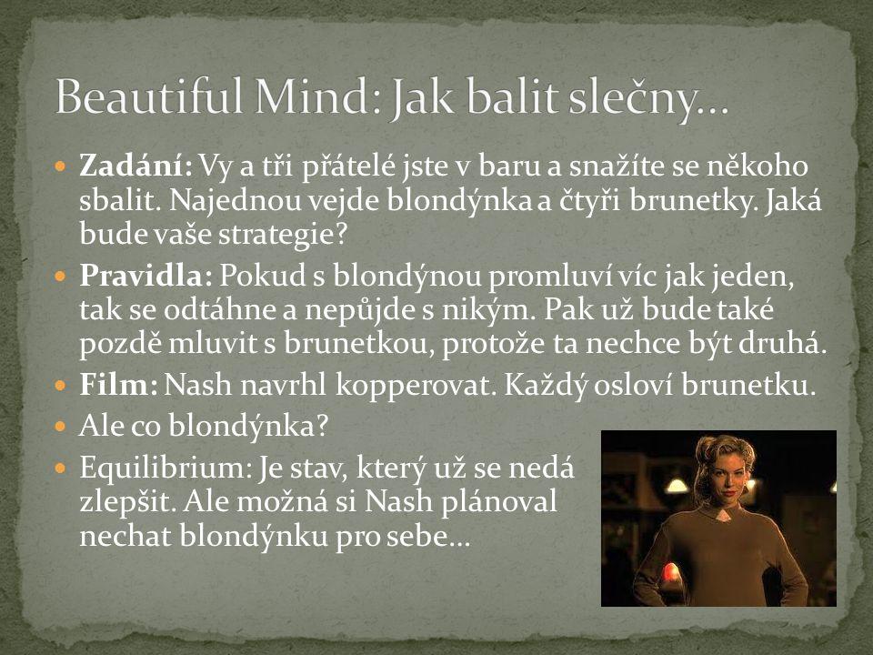 Beautiful Mind: Jak balit slečny…