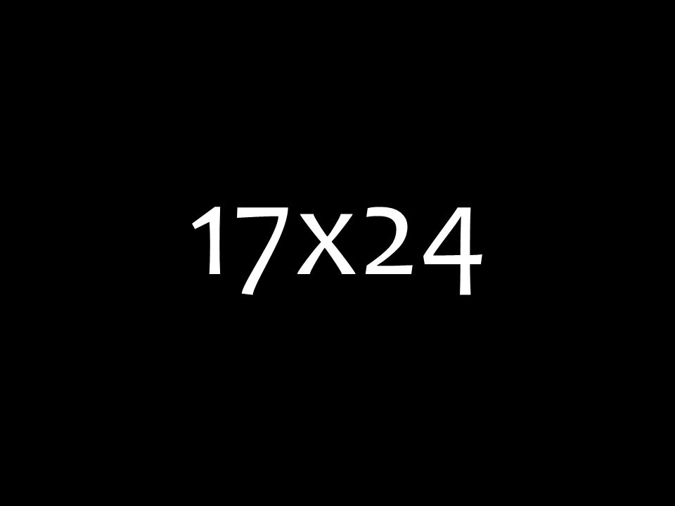 17x24