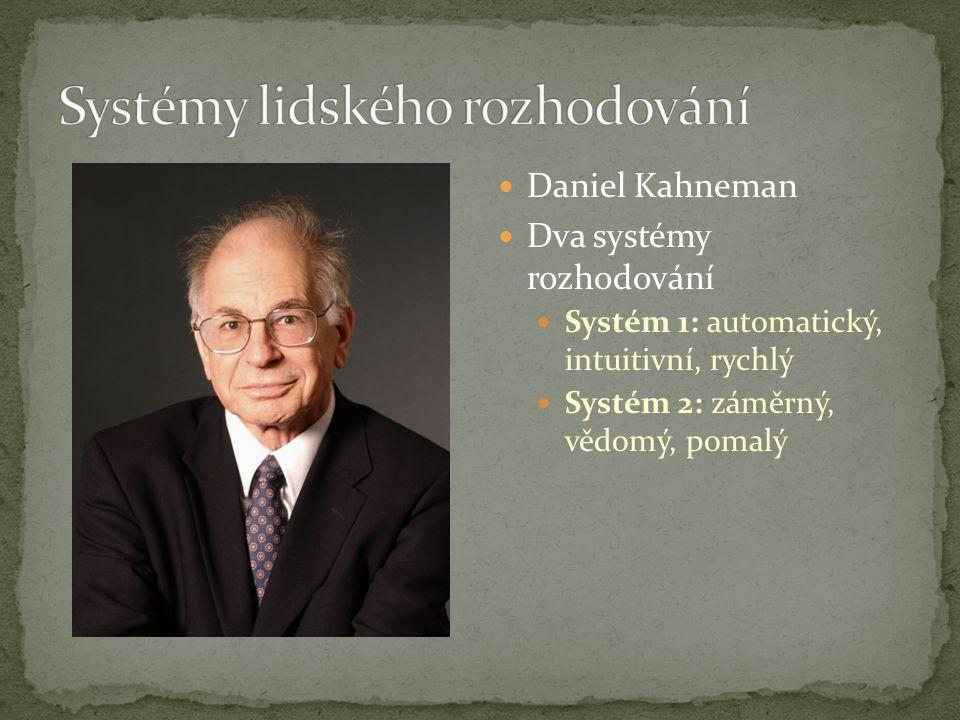 Systémy lidského rozhodování