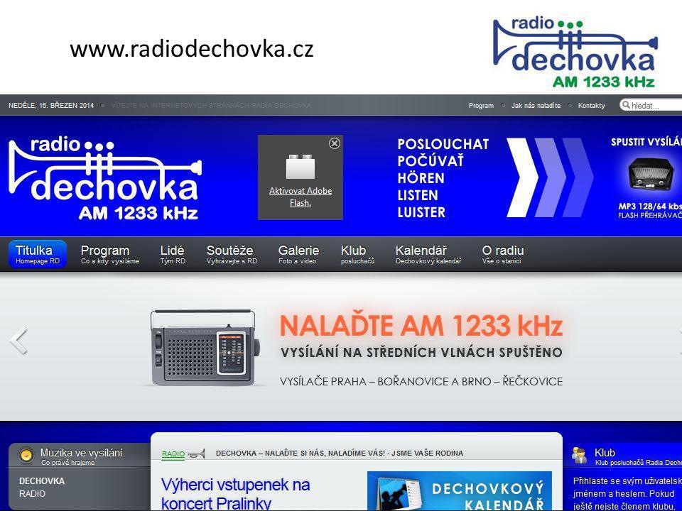 www.radiodechovka.cz