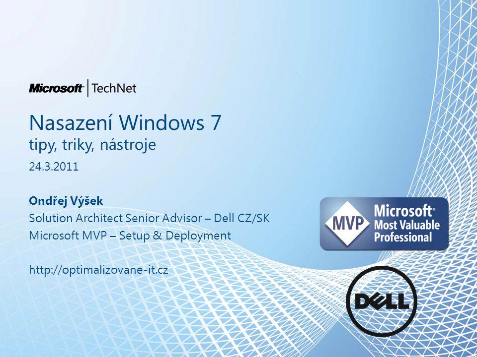Nasazení Windows 7 tipy, triky, nástroje