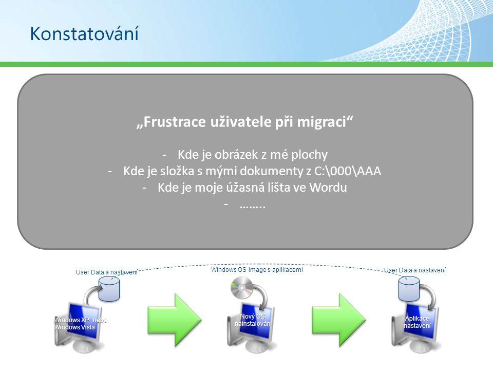 """""""Frustrace uživatele při migraci"""