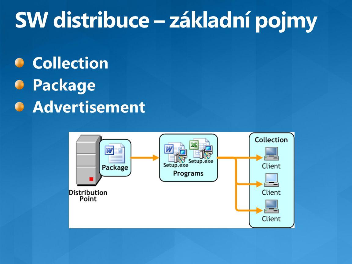 SW distribuce – základní pojmy