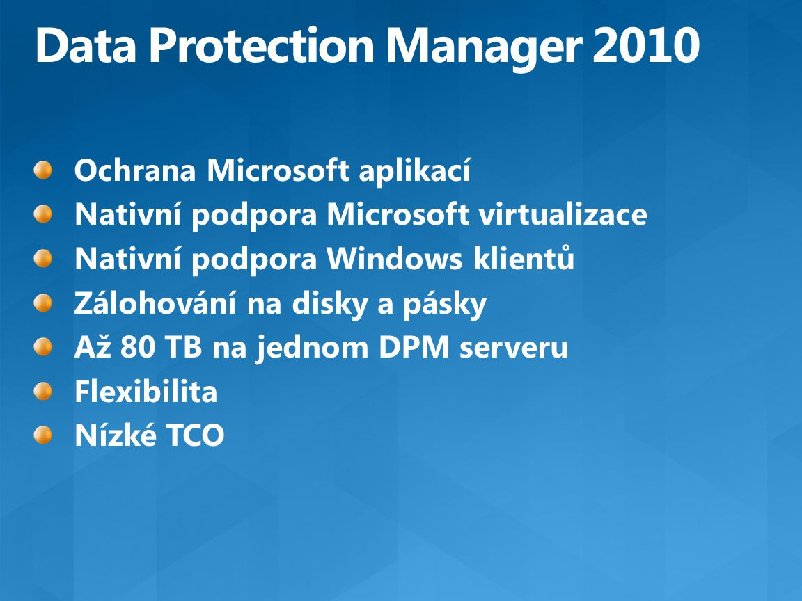 Data Protection Manager 2010