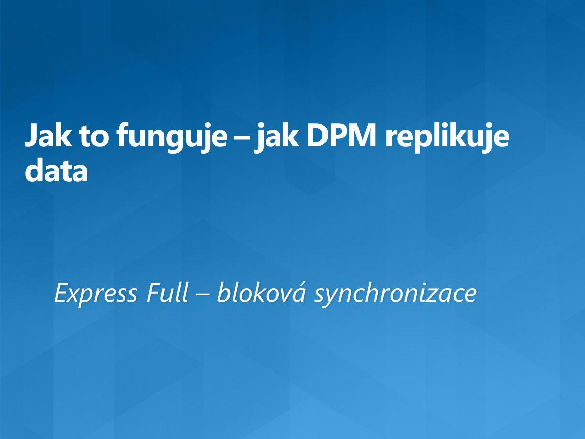 Jak to funguje – jak DPM replikuje data