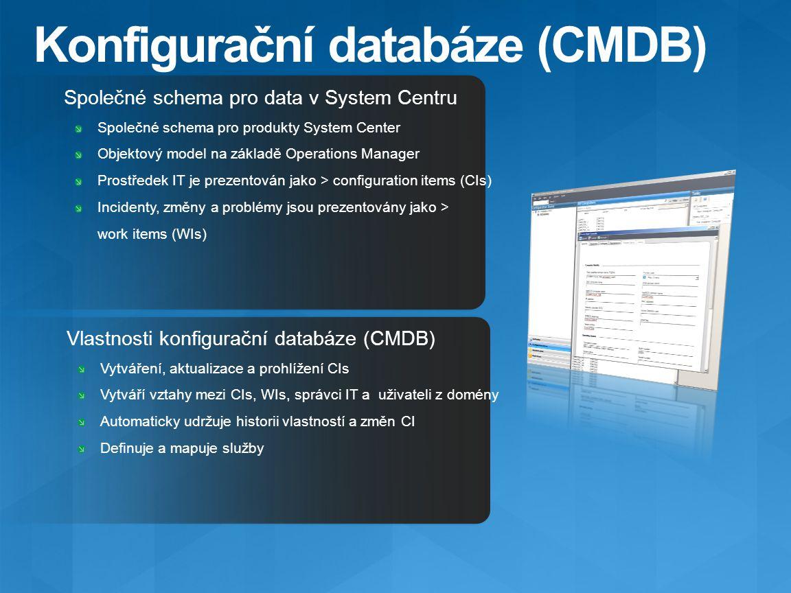 Konfigurační databáze (CMDB)