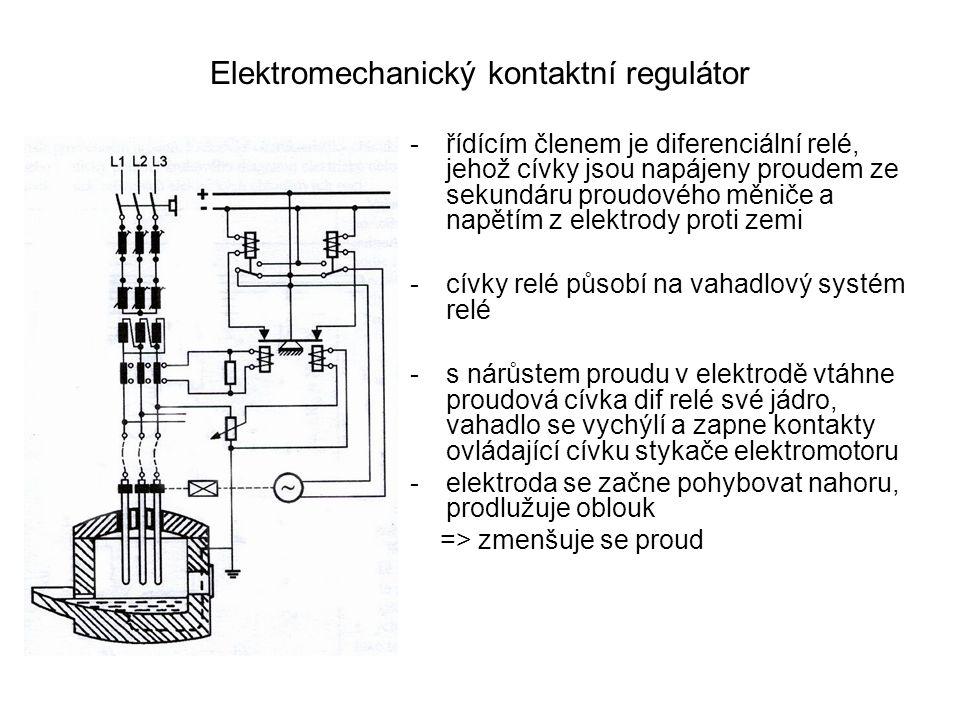 Elektromechanický kontaktní regulátor