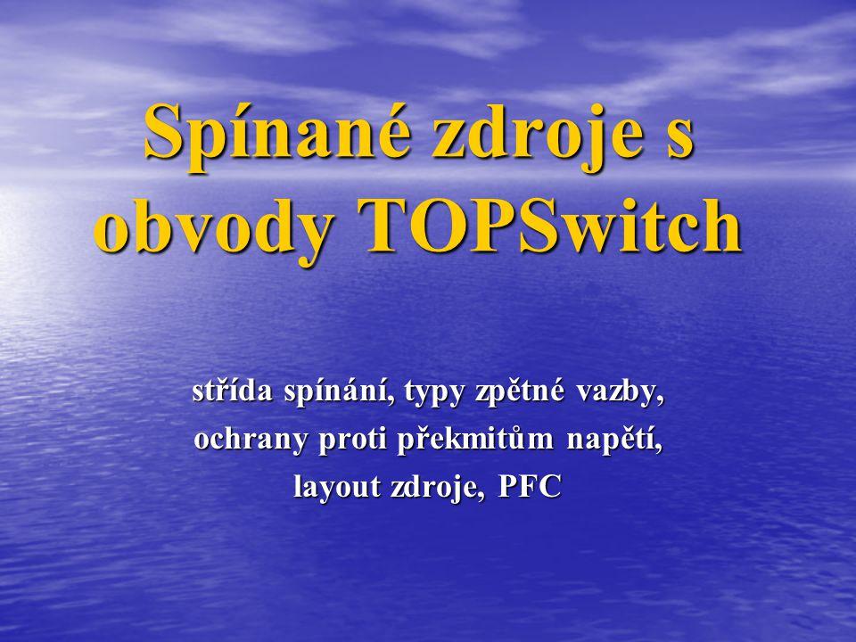 Spínané zdroje s obvody TOPSwitch