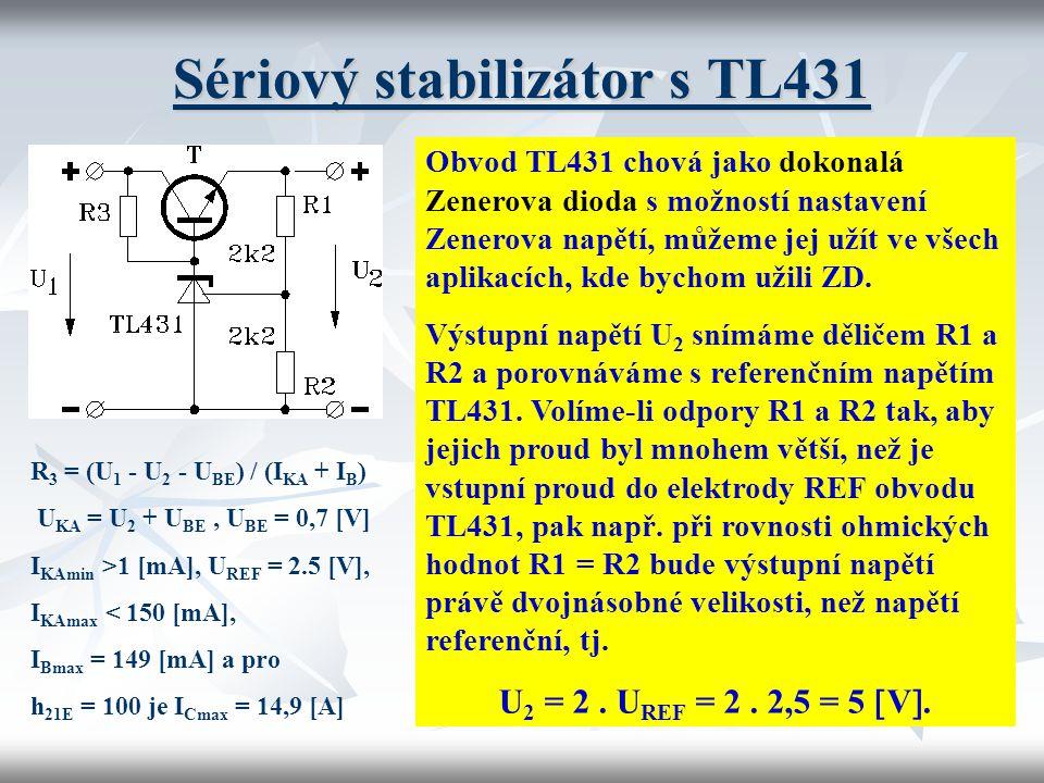 Sériový stabilizátor s TL431