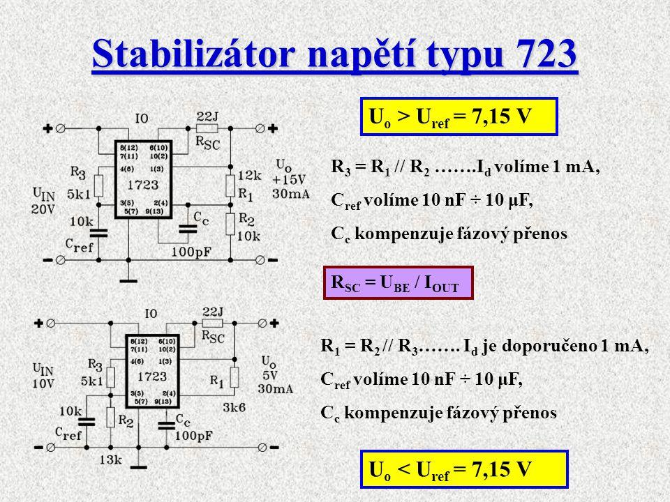 Stabilizátor napětí typu 723