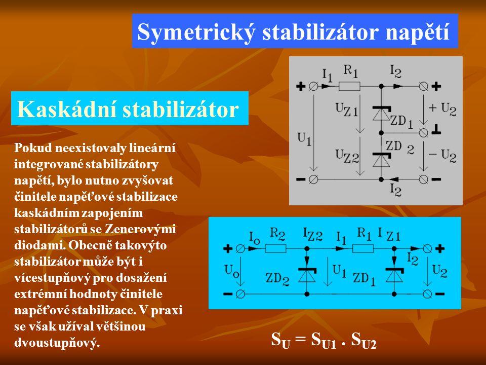 Symetrický stabilizátor napětí