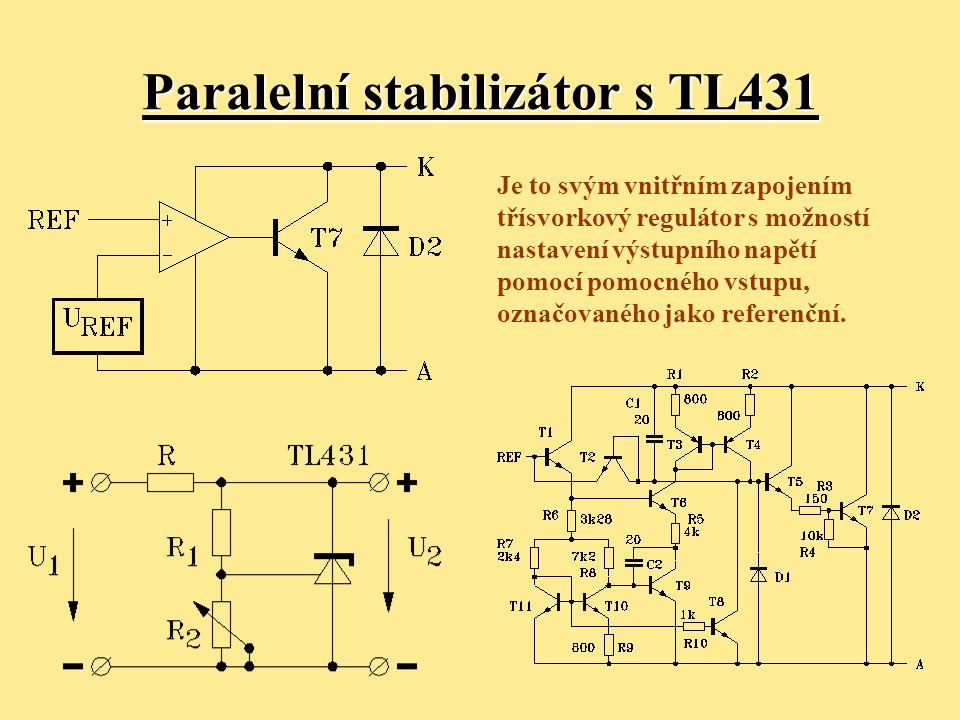 Paralelní stabilizátor s TL431