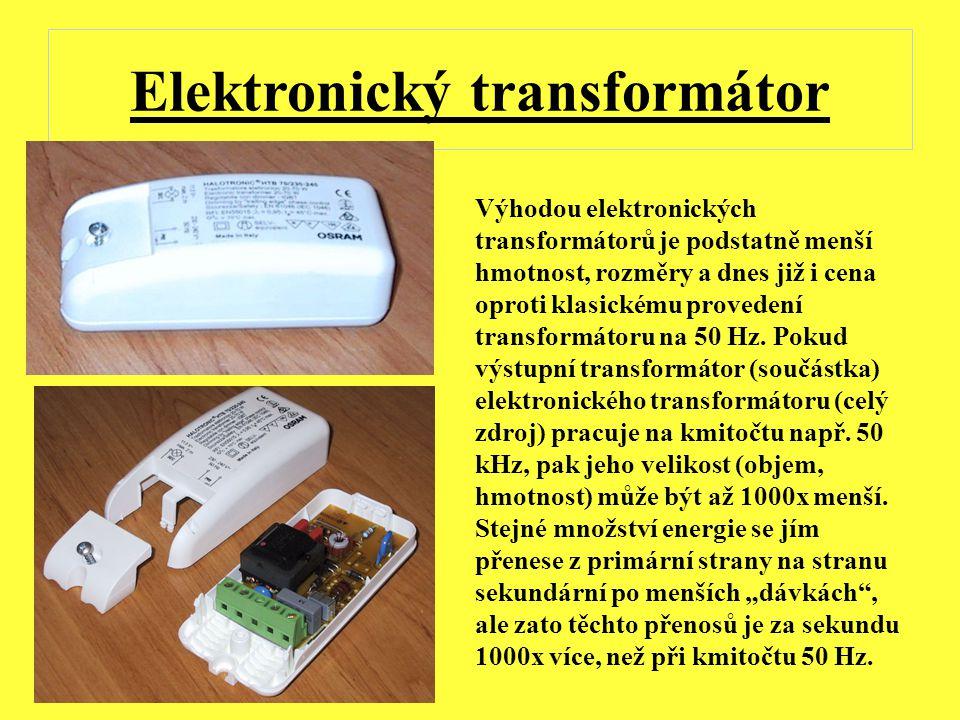 Elektronický transformátor