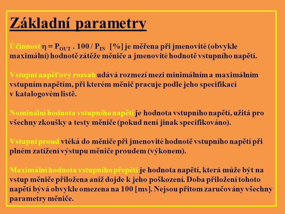 Základní parametry
