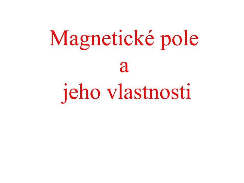 Magnetické pole a jeho vlastnosti