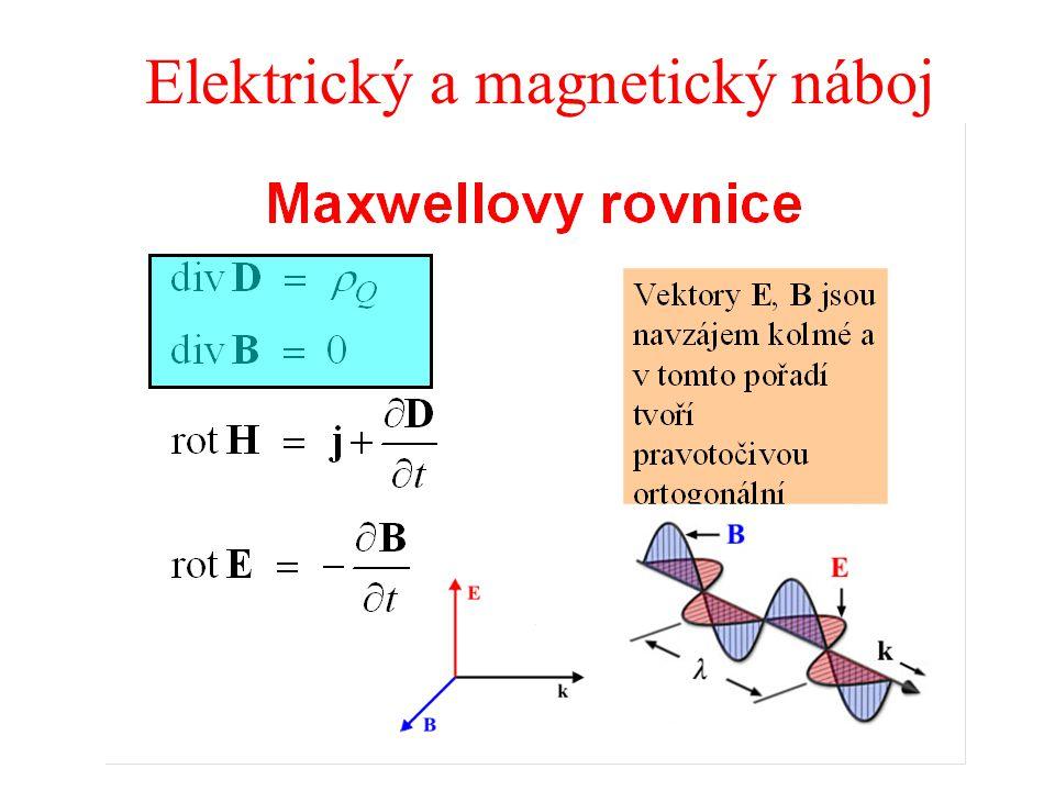Elektrický a magnetický náboj