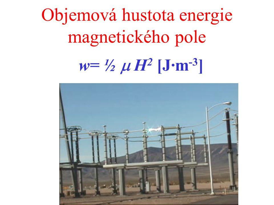 Objemová hustota energie magnetického pole