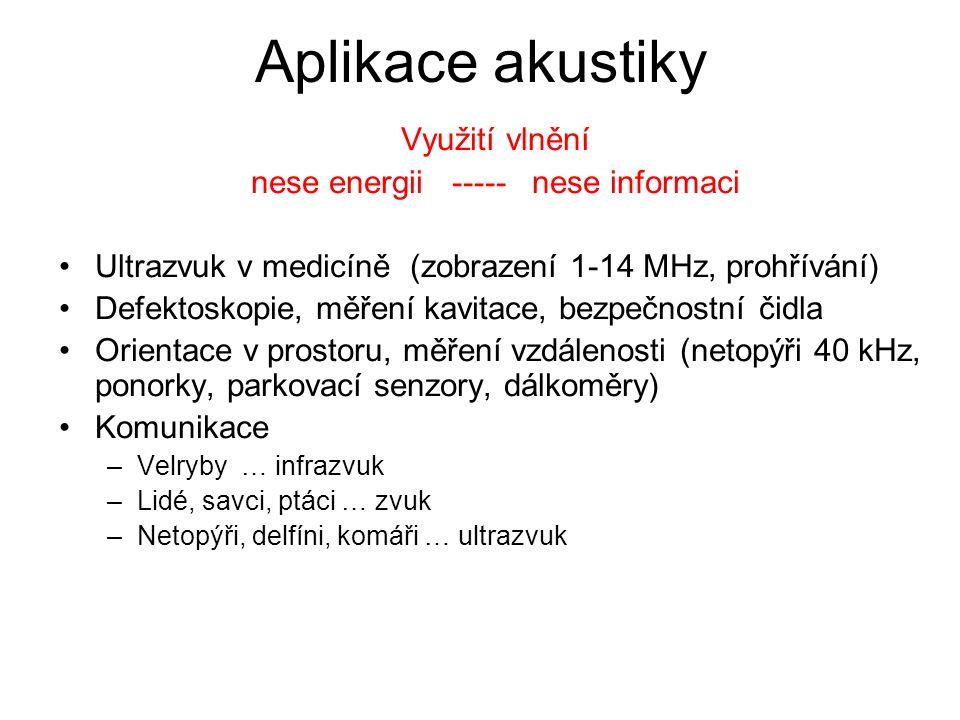 nese energii ----- nese informaci