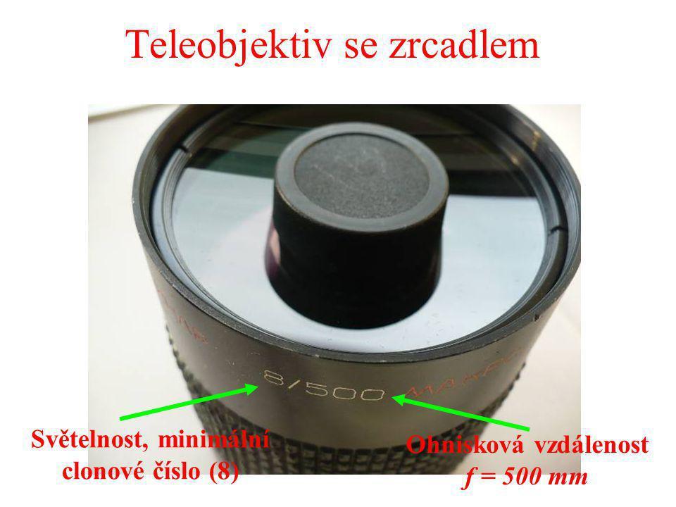Teleobjektiv se zrcadlem