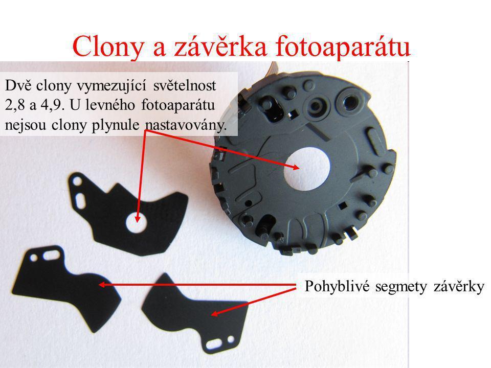 Clony a závěrka fotoaparátu