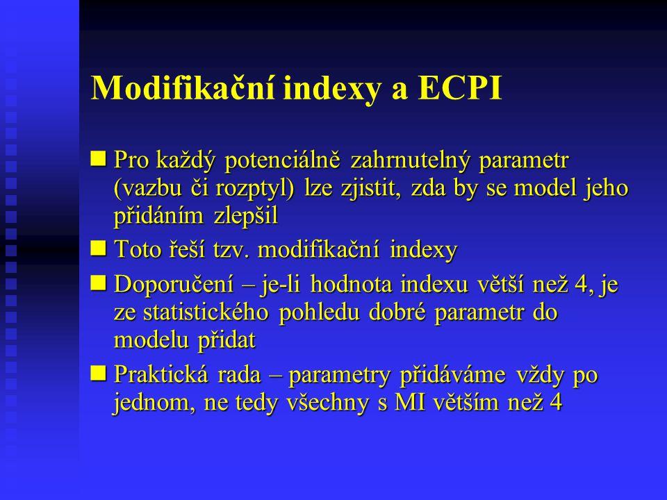 Modifikační indexy a ECPI