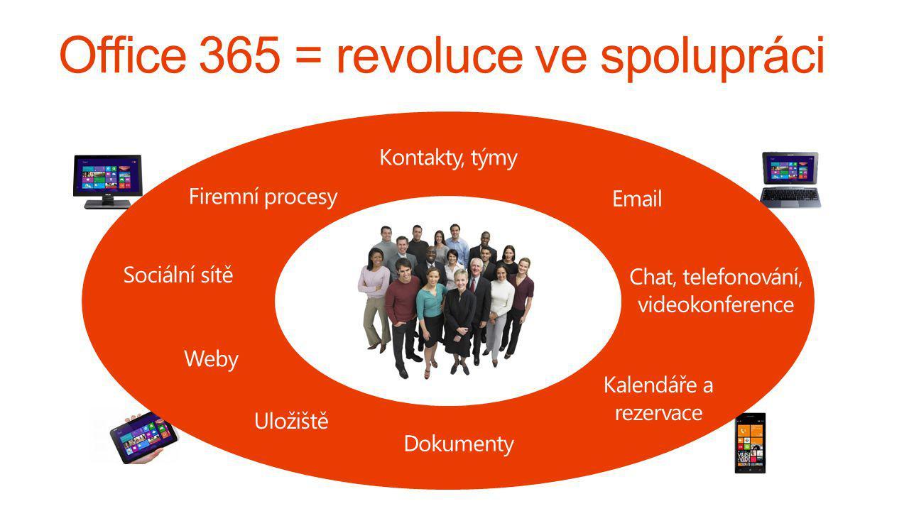 Office 365 = revoluce ve spolupráci