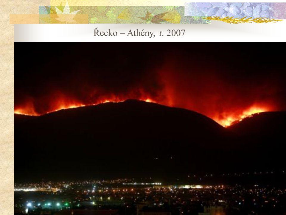 Řecko – Athény, r. 2007