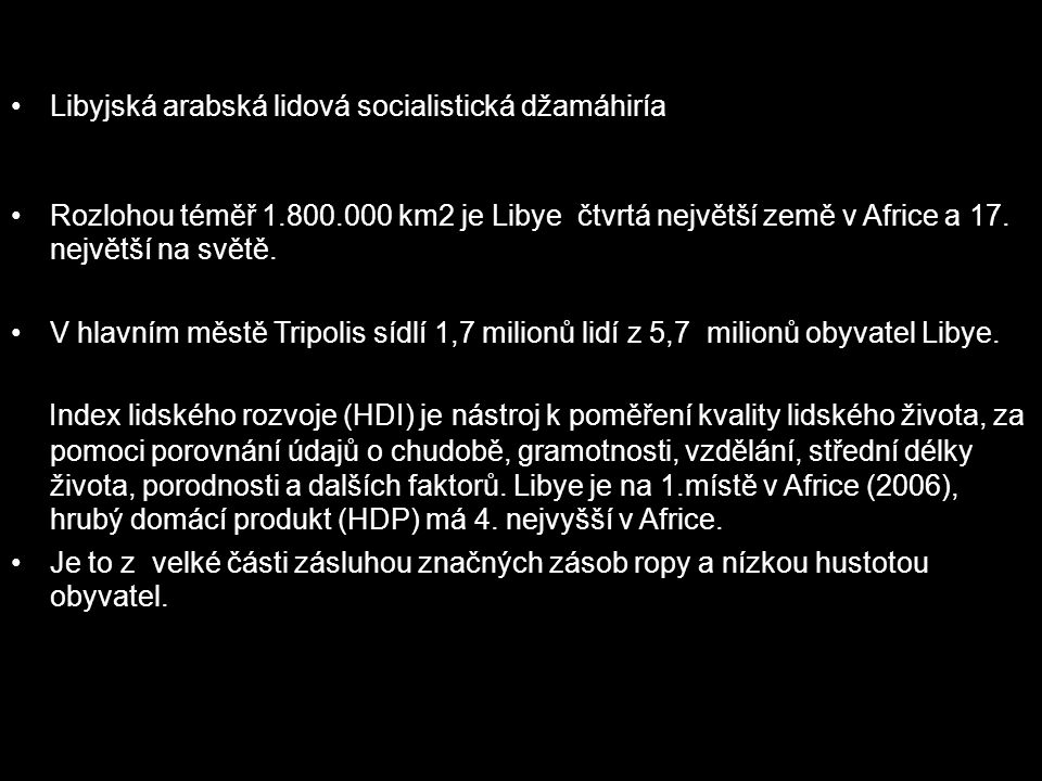 Libyjská arabská lidová socialistická džamáhiría