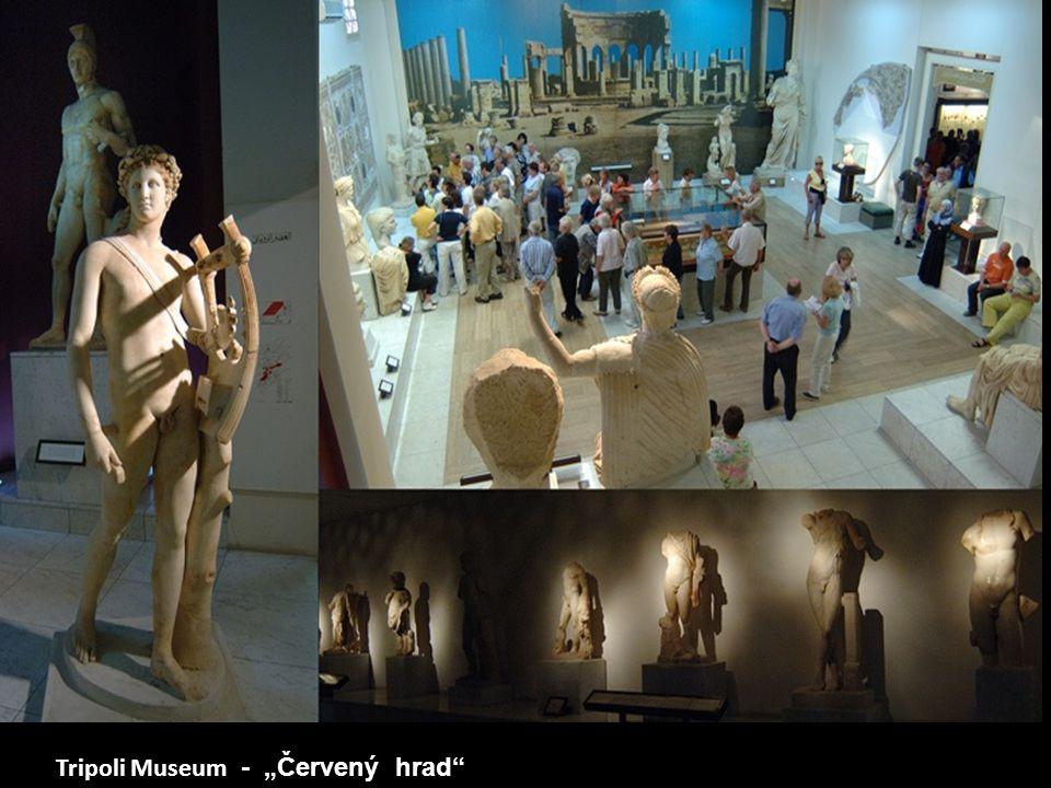 """Tripoli Museum - """"Červený hrad"""