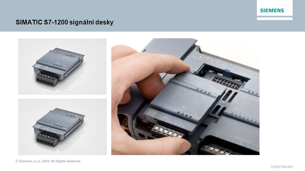 SIMATIC S7-1200 signální desky