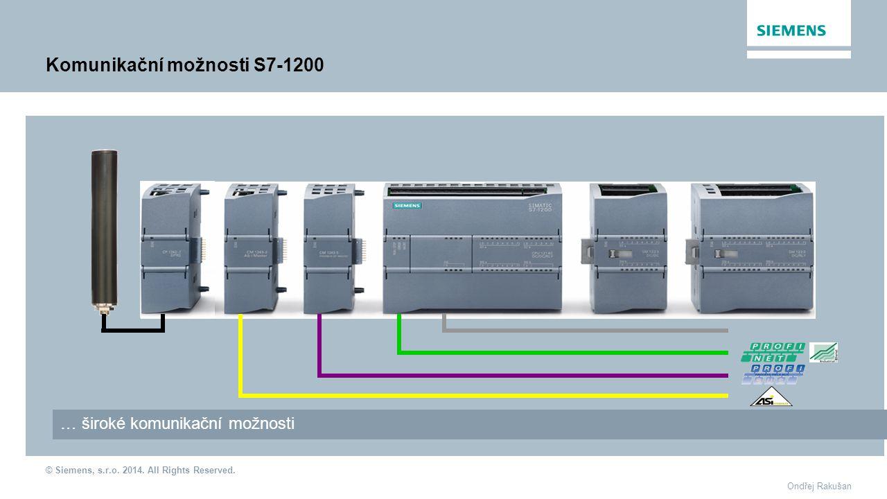Komunikační možnosti S7-1200