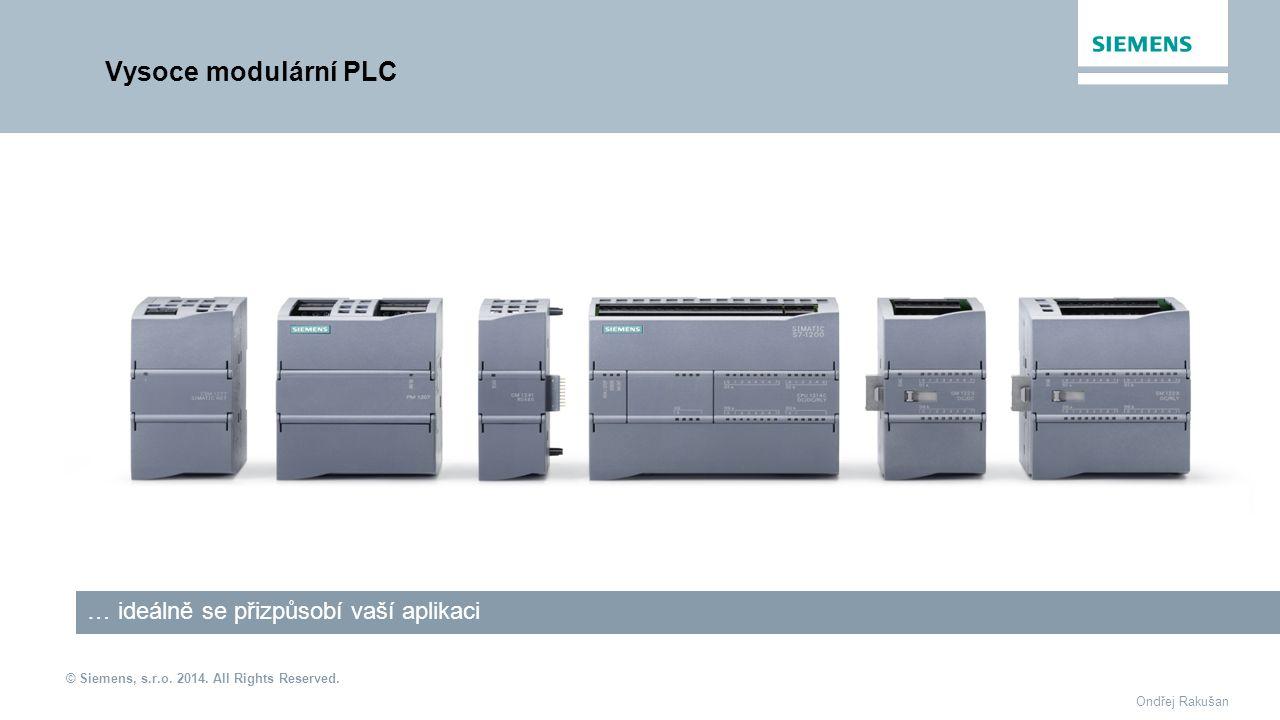 Vysoce modulární PLC … ideálně se přizpůsobí vaší aplikaci