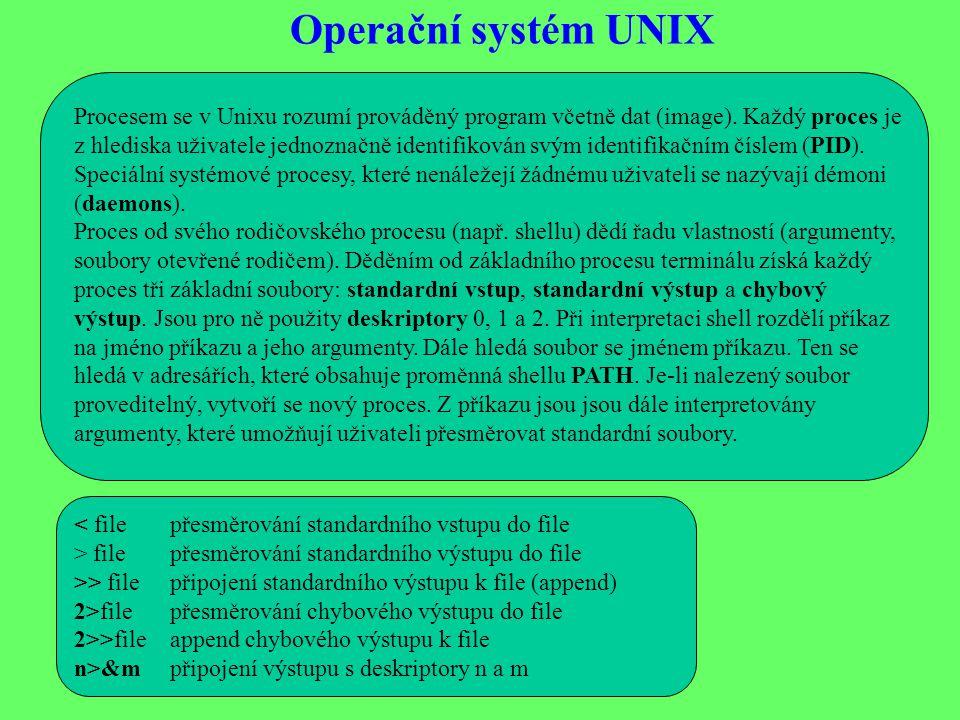 Operační systém UNIX
