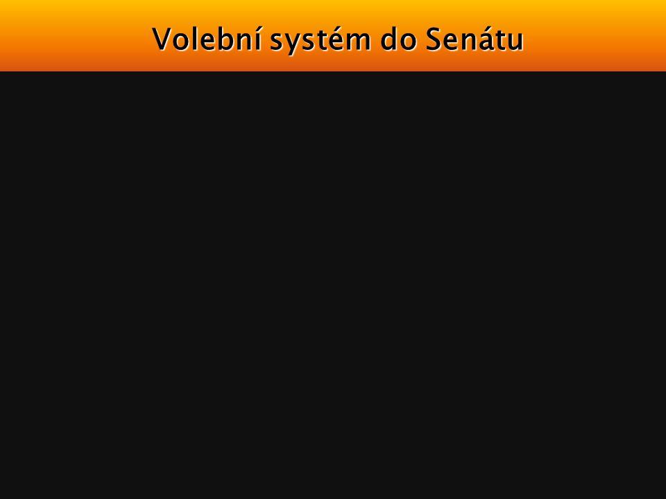 Volební systém do Senátu