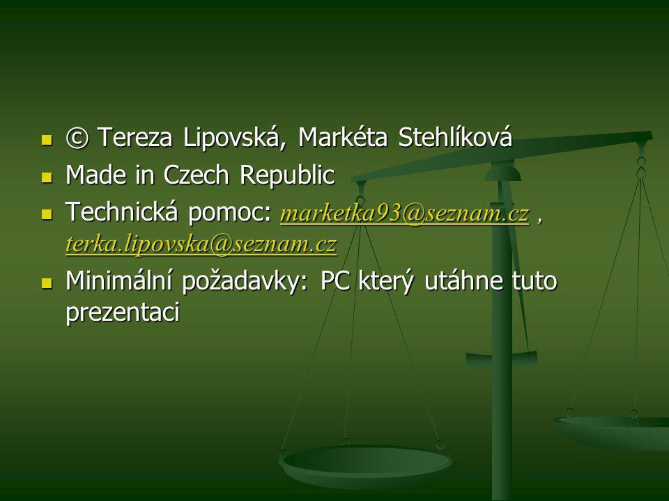 © Tereza Lipovská, Markéta Stehlíková