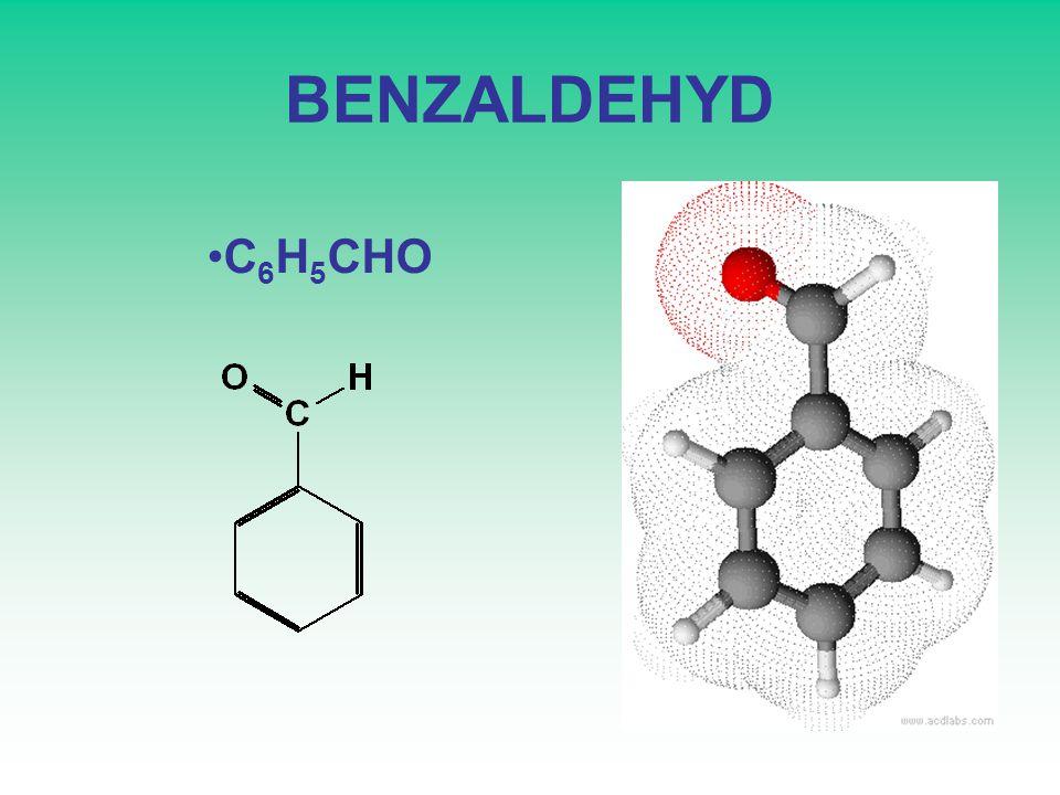 BENZALDEHYD C6H5CHO